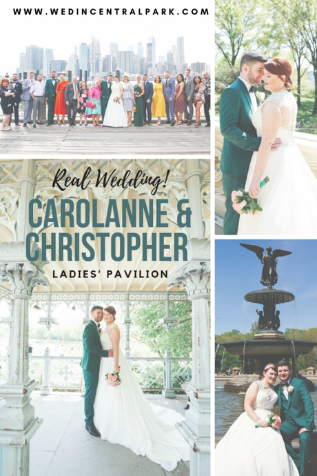 Carolanne and Christopher's May Wedding in the Ladies' Pavilion