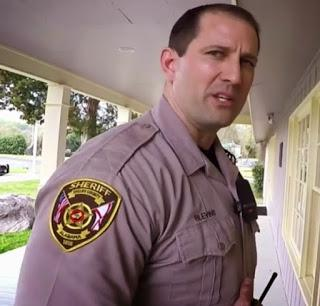 Chris Blevins, the Alabama deputy who beat me up in my own home with no allegations of a crime, shares a capacity for lying with his thuggish Missouri brethren