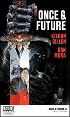 First Look: Once & Future #1 by Gillen & Mora (BOOM!)