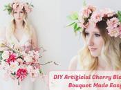 Artificial Cherry Blossom Bouquet Made Easy