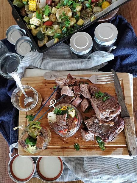 aussie grassfed beef ribeye steak easy oven meal