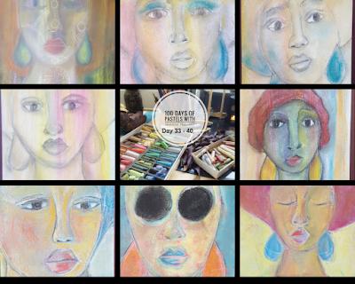 50 Pastel Drawings in 50 Days!