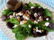 Beetroot, Goat's Cheese Toasted Walnut Salad