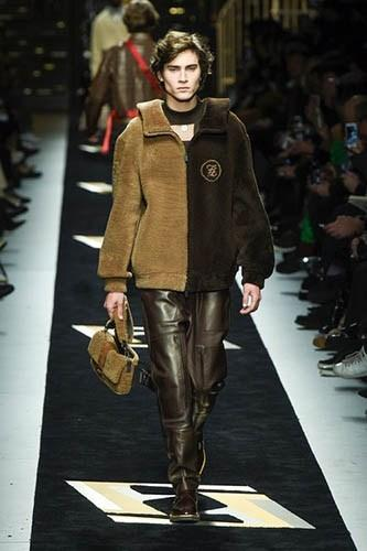 The Fendi Autumn-Winter Menswear Collection in Review
