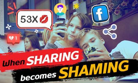When sharing becomes shaming