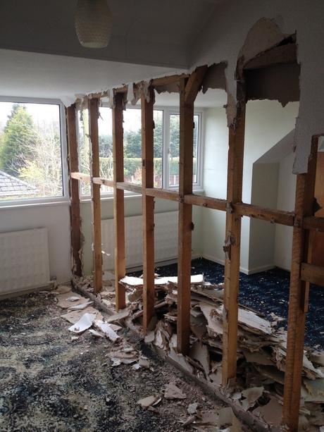 Bedroom renovation.