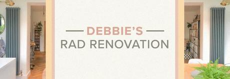 Debbie's rad renovation blog banner.