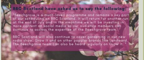 Beechgrove Garden – A TV Gem