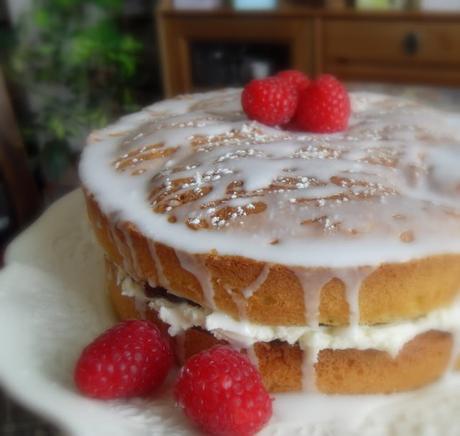 Raspberry Celebration Cake
