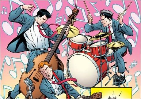 First Look at Archie: 1955 #1 by Waid, Augustyn, Grummett, & Smith