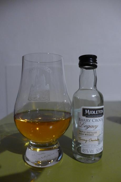 Tasting Notes:  Midleton: Barry Crockett Legacy
