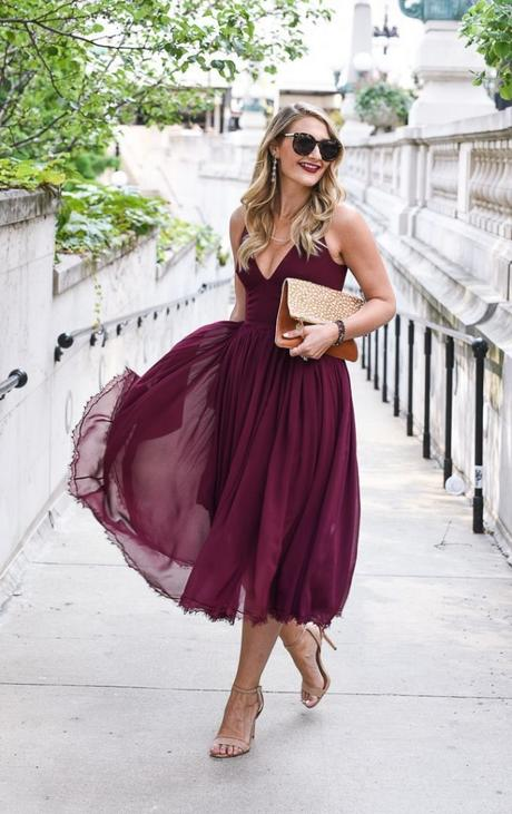Fall Weddings guest outfit idea