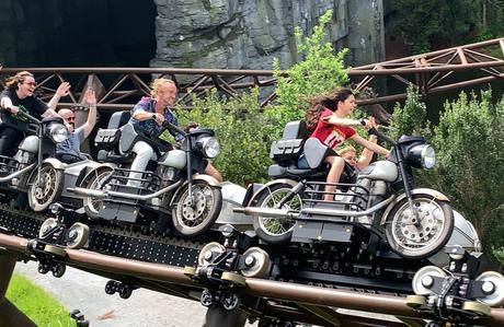 Harry Potter: Hagrid's Motorbike Adventure