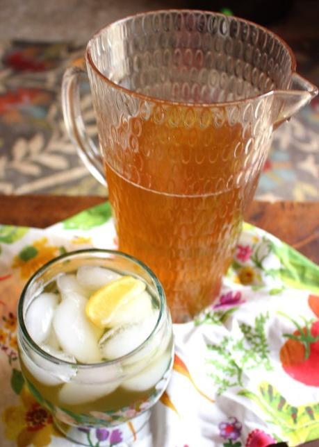 Jasmine and Spruce Tip Tea