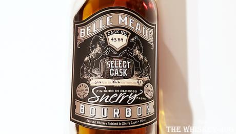 Label for the California Select Cask