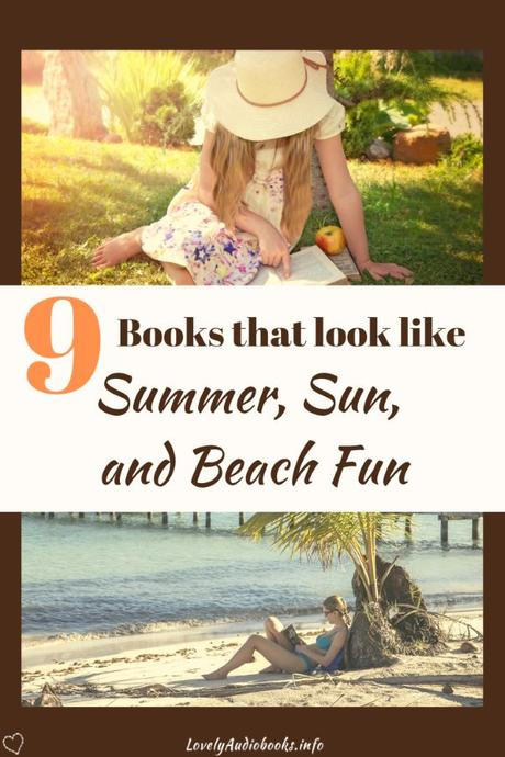 A book cover with a great Summer feel to it