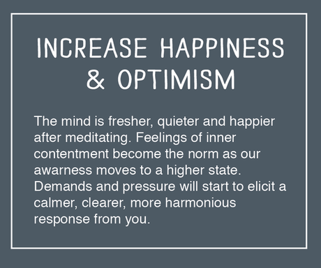 How will Optimism and Meditation change your life?