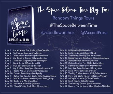 Blog Tour – The Space Between Time by Charlie Laidlaw