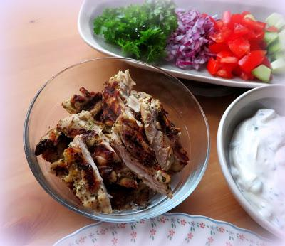Easy Chicken Gyros