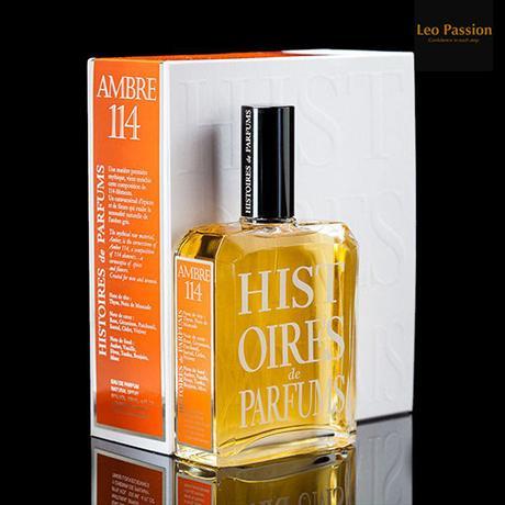 Ambre 114 Histoires de Parfums - Review on Leo Passion