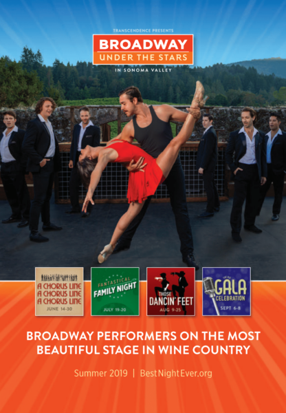 A Chorus Line Comes to Broadway Under the Stars!