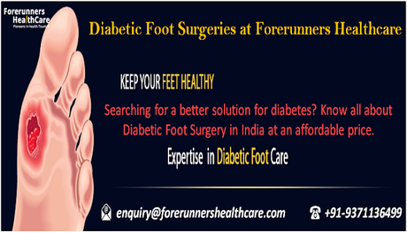 Surgical Interpretation of Diabetic Foot for a Pain Free Life