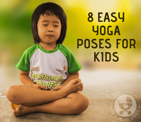 Ease digestion, aid relaxation and improve concentration with these easy Yoga Poses for Kids. to stay healthy. Ideal even for very young kids to try out!