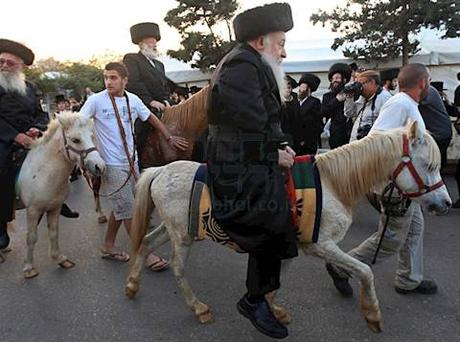the horse and carriage minhag is on its way out