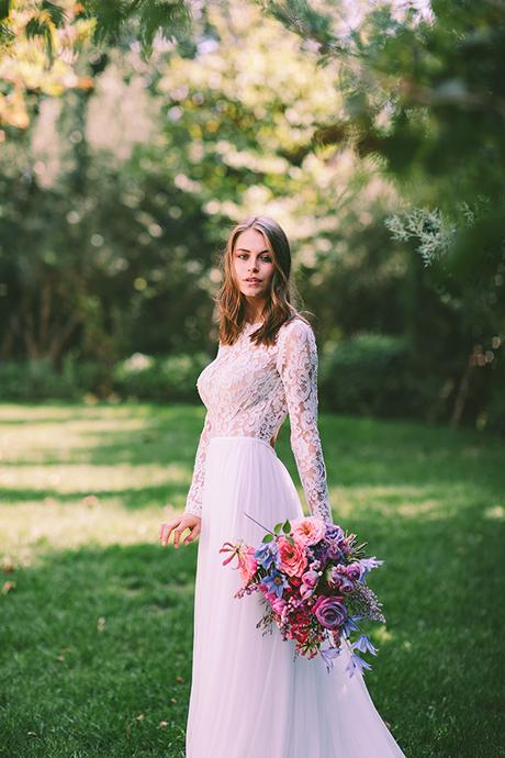 Lavish bridal shoot with the prettiest flowers