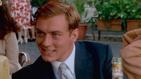 The Talented Mr. Ripley: Dickie's Navy Silk Blazer