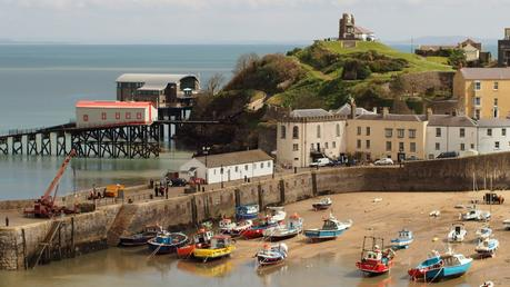 Harbour at Tenby town
