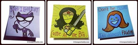 SuperLunchNotes: LGBTQ Superheroes Edition