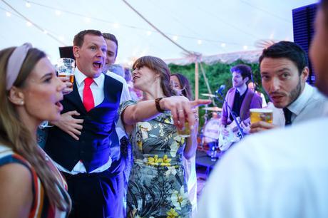 the groom on the dancefloor