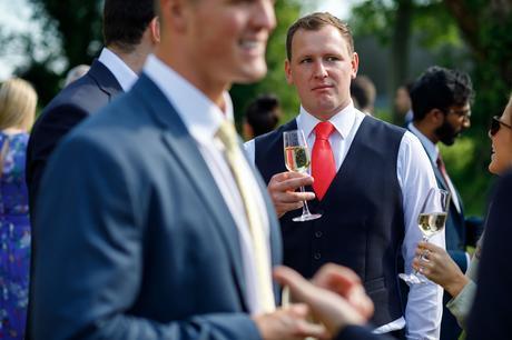 the groom ponders