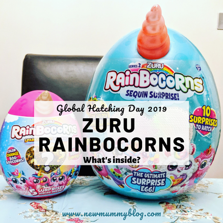 Rainbocorns Series 2… Global Hatching Day -what's inside?