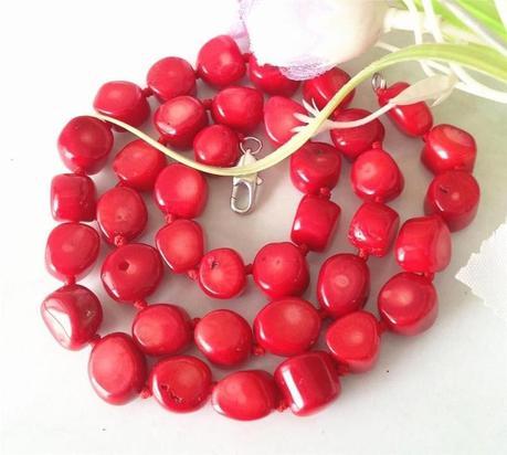 Red Sea Coral NecklaceNecklace