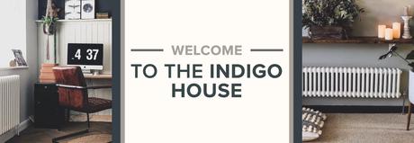 Welcome to the indigo house blog banner.
