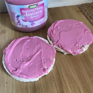 Asda Raspberry Flavour Unicorn Spread