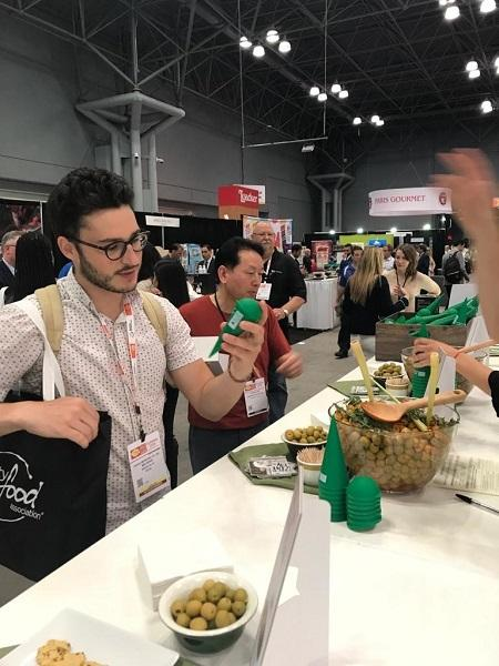 Have an Olive Day! With Olives from Spain Conquers the Summer Fancy Food Show in NYC