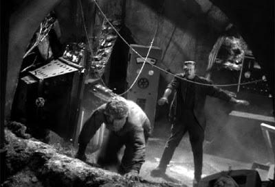 Wednesday Horror: Frankenstein Meets the Wolf Man