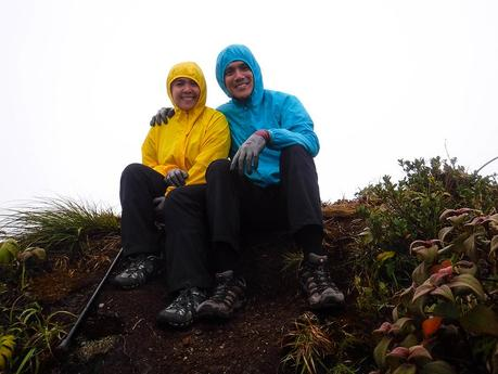 Sitting on the False Peak