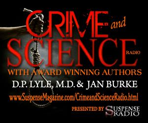 Katherine Ramsland and Linda Fairstein in Suspense Magazine and on Crime and Science Radio