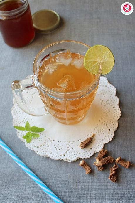 Nannari sharbet is a refreshing drink made from the roots of an herb and with several health benefits. It is a natural body coolant, purifies the blood and aids in digestion.