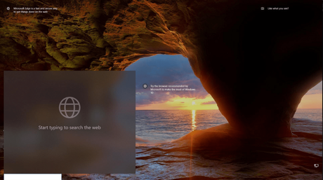 Windows 10 allows you to search via Bing from the lock screen. Here's How to Enable it
