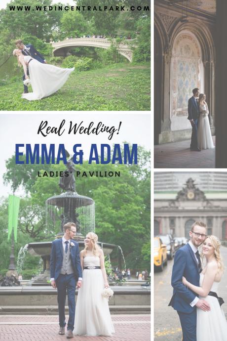 Emma and Adam's Intimate Ladies' Pavilion Wedding