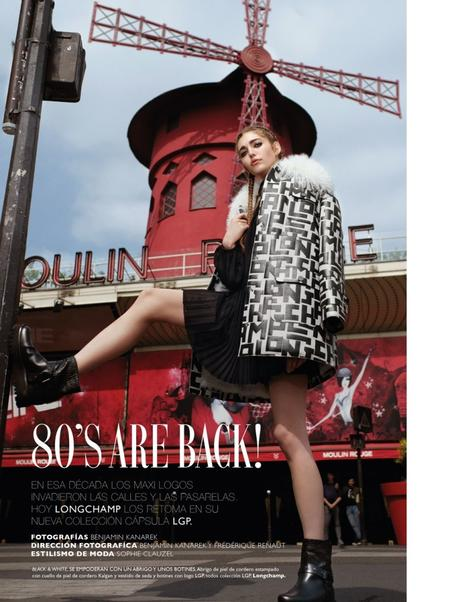 The 80's are Back with Anna Valahu for GRAZIA by Benjamin Kanarek