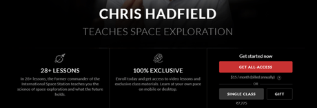 Chris Hadfield Masterclass Review 2019: Is It Worth It? (Pros & Cons)