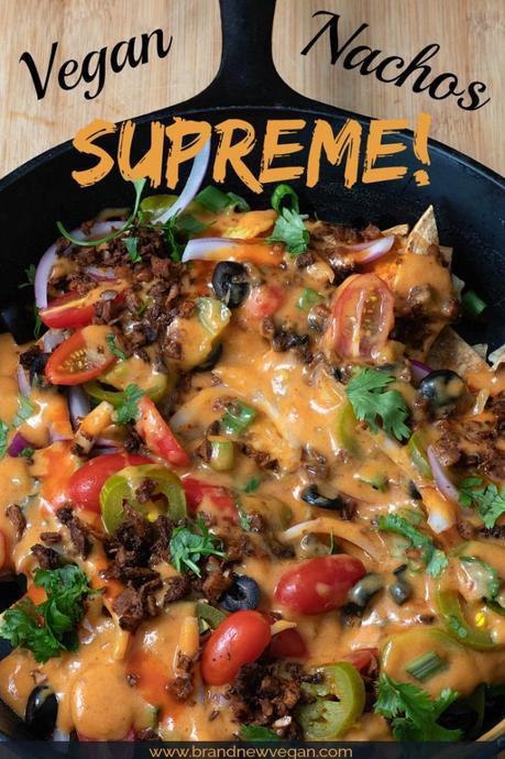 vegan nachos supreme