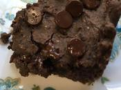 Fudgy Peanut Butter Black Bean Brownies
