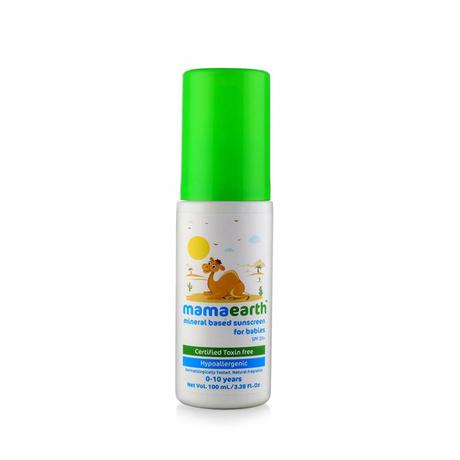 Mama earth Mineral Based Sunscreen